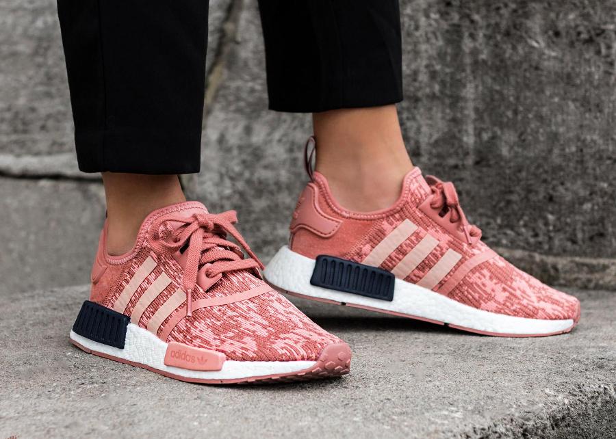 adidas nmd femme gris rose