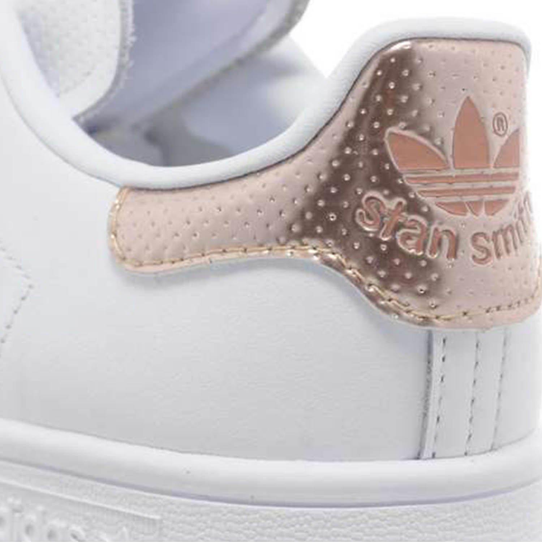adidas stan smith femme rose et blanche