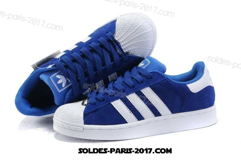 adidas superstar homme bleu et rouge