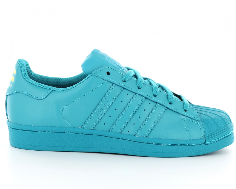 adidas bleu turquoise
