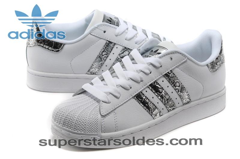 adidas superstar blanche pailletée