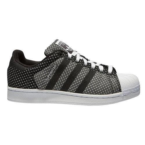 adidas superstar weave noir et blanche