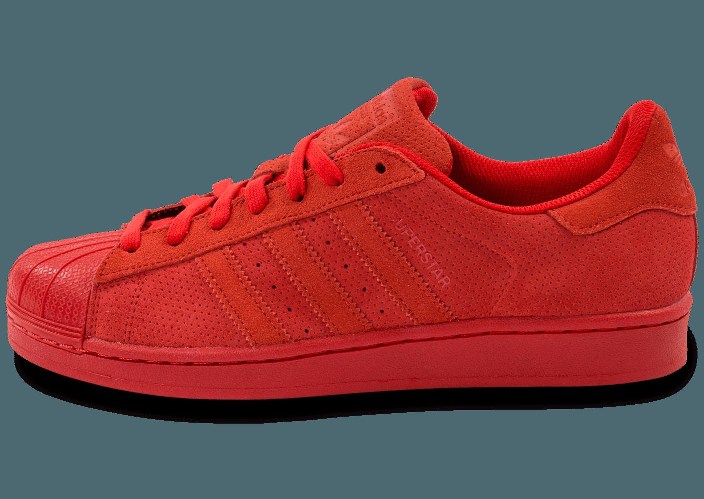 basket adidas superstar rouge