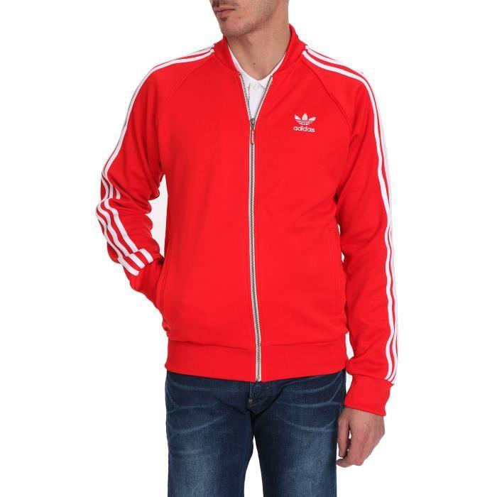 Superstar Veste Adidas Superstar Adidas Veste Rouge Rouge