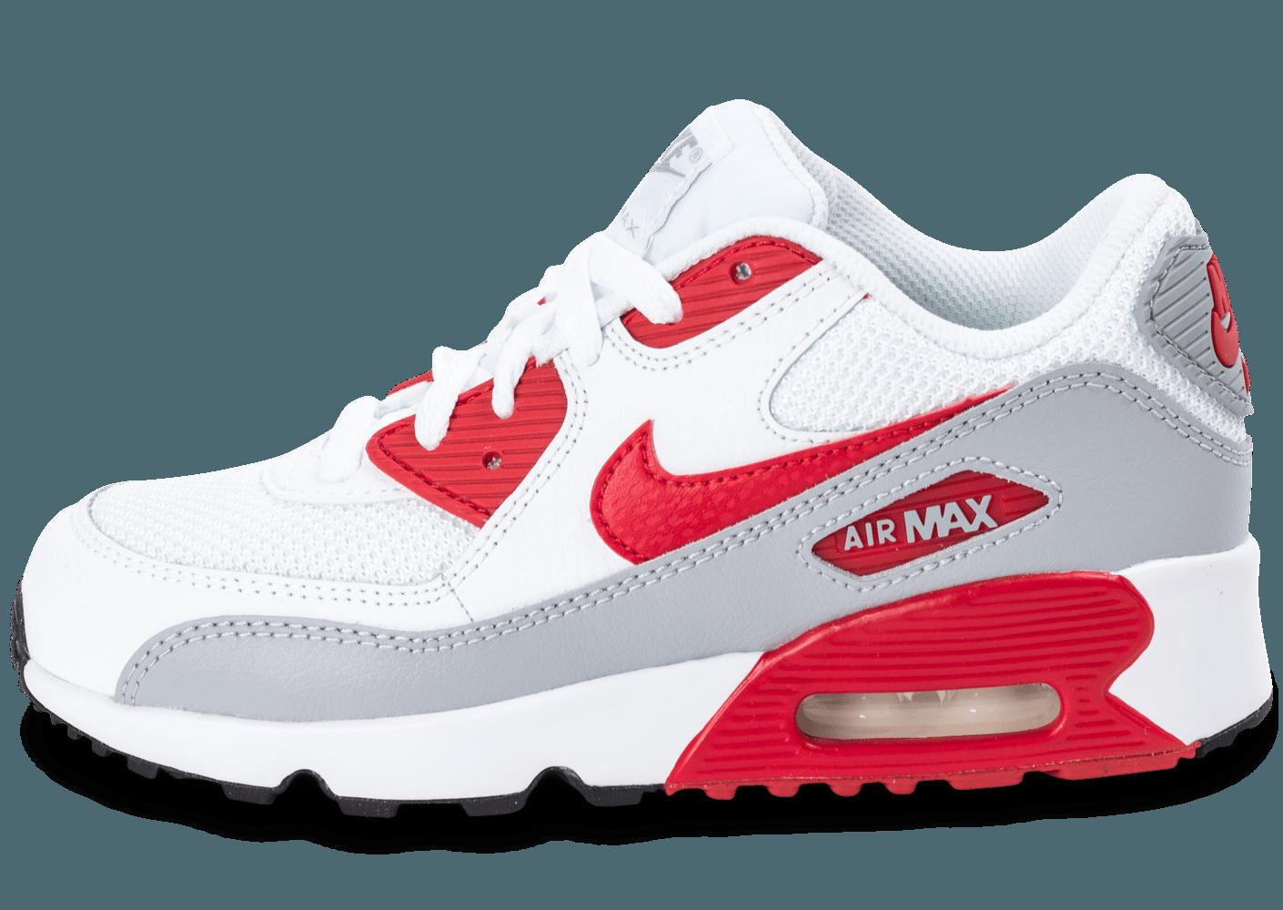 air max 90 rouge blanc
