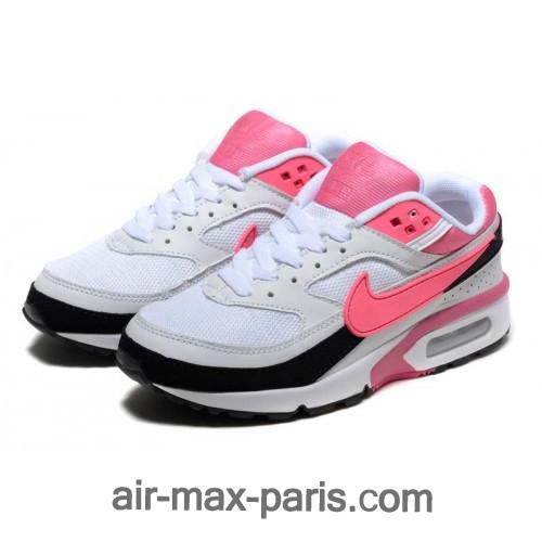 air max bw blanc et rose