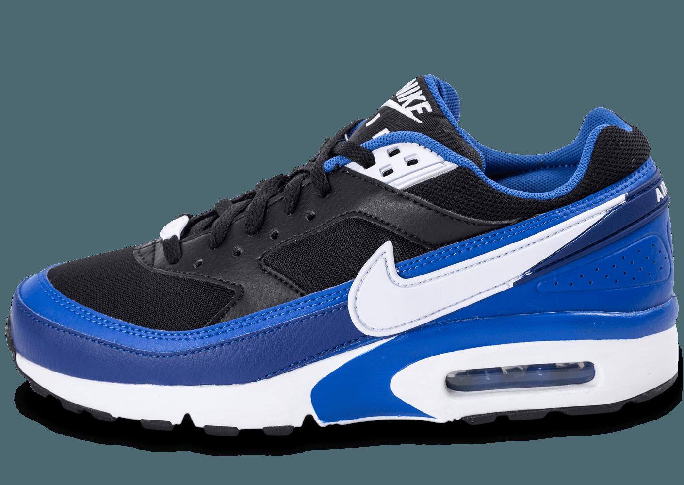Soldes Nike Air Max Classic BW Homme Noir Blanche Lumière