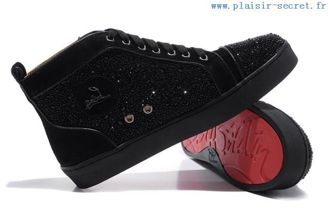 chaussures louboutin homme noir