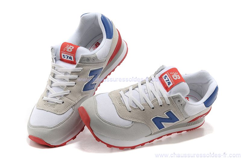 basket new balance bleu blanc rouge