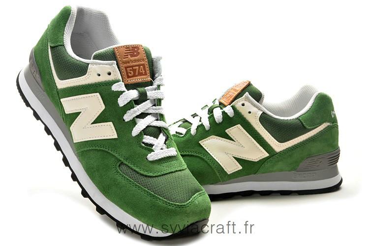 new balance homme 574 vert